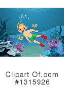Royalty-Free (RF) Snorkel Clipart Illustration #1315926
