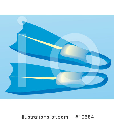 Royalty-Free (RF) Snorkel Clipart Illustration by Rasmussen Images - Stock Sample #19684