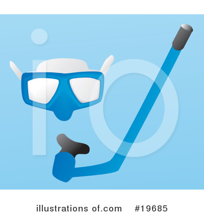 Snorkel Clipart #19685 by Rasmussen Images