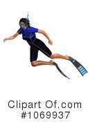 Snorkeling Clipart #1069937