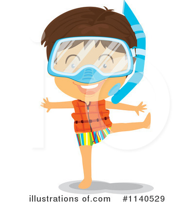 Swimming Clipart #1140529 by Graphics RF