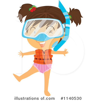 Swimming Clipart #1140530 by Graphics RF