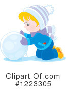 Snow Clipart #1223305 by Alex Bannykh
