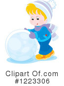 Snow Clipart #1223306 by Alex Bannykh