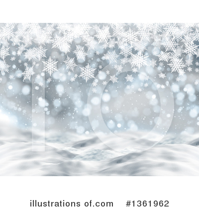 Winter Clipart #1361962 by KJ Pargeter