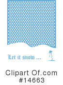 Royalty-Free (RF) Snow Clipart Illustration #14663