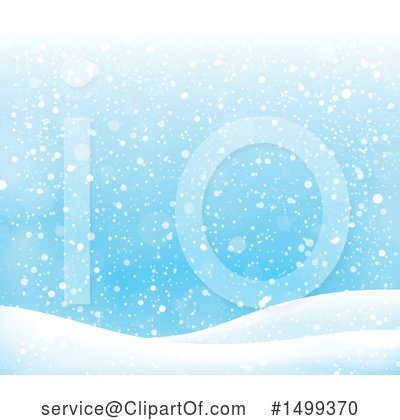 Snow Clipart #1499370 by visekart