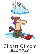 Snow Clipart #443740 by toonaday