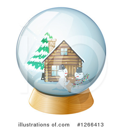 Cabin Clipart #1266413 by Graphics RF