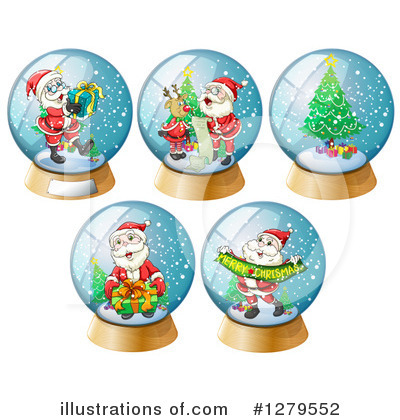 Snow Globe Clipart #1279552 by Graphics RF