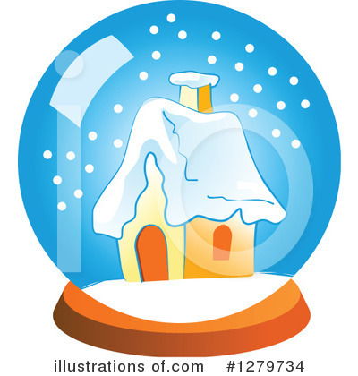 Snow Globe Clipart #1279734 by Vector Tradition SM