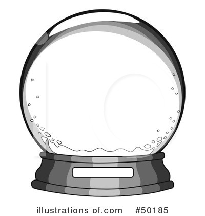 Royalty-Free (RF) Snow Globe Clipart Illustration by C Charley-Franzwa - Stock Sample #50185