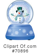 Royalty-Free (RF) snow globe Clipart Illustration #70896