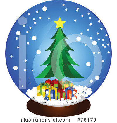 Royalty-Free (RF) Snow Globe Clipart Illustration by BNP Design Studio ...