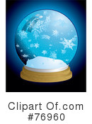 Royalty-Free (RF) Snow Globe Clipart Illustration #76960