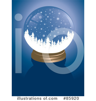 Royalty-Free (RF) Snow Globe Clipart Illustration by Rasmussen Images ...