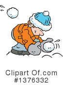 Snowball Fight Clipart #1376332