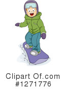 Snowboarding Clipart #1271776 by BNP Design Studio
