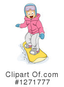 Snowboarding Clipart #1271777 by BNP Design Studio