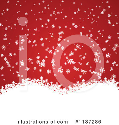 Christmas Background Clipart #1137286 by vectorace
