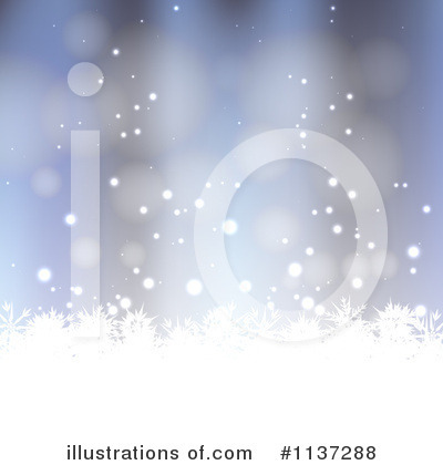 Christmas Background Clipart #1137288 by vectorace