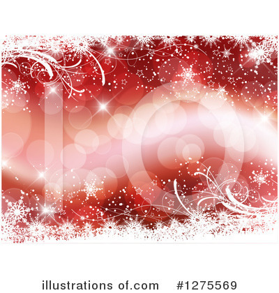 Winter Background Clipart #1275569 by KJ Pargeter