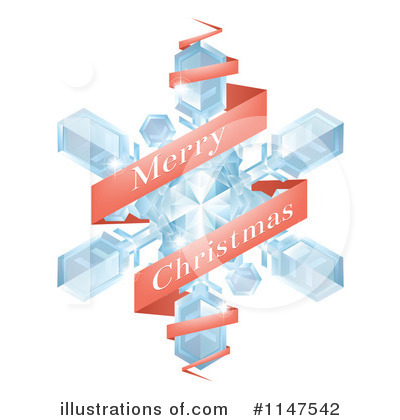 Snowflakes Clipart #1147542 by AtStockIllustration