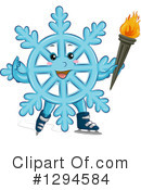 Snowflake Clipart #1294584 by BNP Design Studio