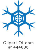Snowflake Clipart #1444836 by ColorMagic