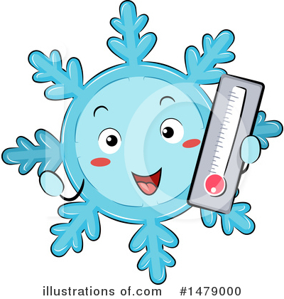 Snowflakes Clipart #1479000 by BNP Design Studio