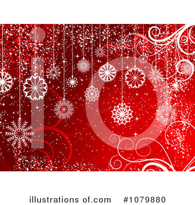 Snowflake Background Clipart #1079880 by KJ Pargeter