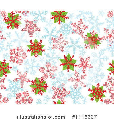 Snowflakes Clipart #1116337 by Cherie Reve