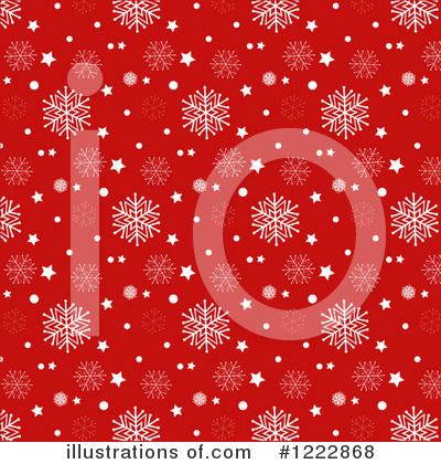 Snowflake Background Clipart #1222868 by KJ Pargeter