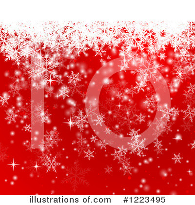 Christmas Background Clipart #1223495 by vectorace