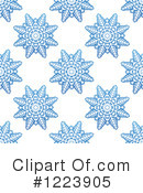 Snowflakes Clipart #1223905 by Vector Tradition SM