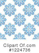 Snowflakes Clipart #1224736 by Vector Tradition SM