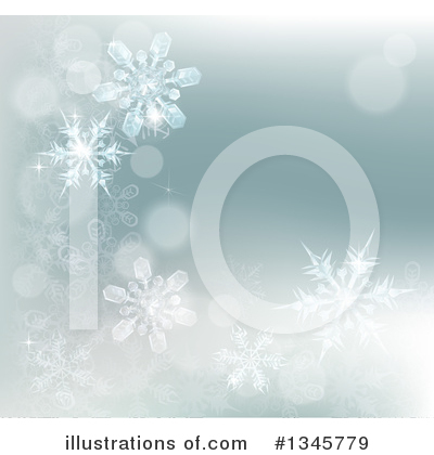 Christmas Background Clipart #1345779 by AtStockIllustration