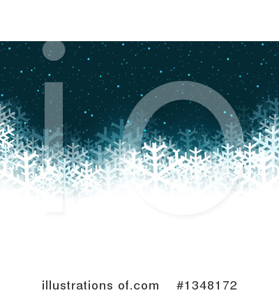 Christmas Background Clipart #1348172 by dero