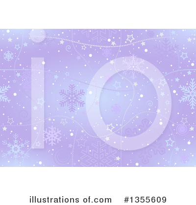 Christmas Background Clipart #1355609 by dero