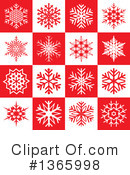 Snowflakes Clipart #1365998 by KJ Pargeter