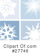 Snowflakes Clipart #27746 by KJ Pargeter