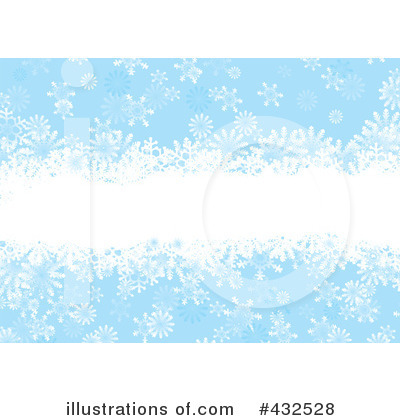 Snowflake Background Clipart #432528 by michaeltravers