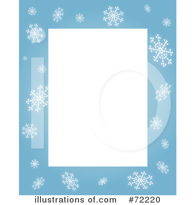 Snowflakes Clipart #72220 by Rosie Piter | Royalty-Free (RF) Stock ...