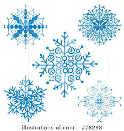 Snowflake Clipart #78268 by MilsiArt
