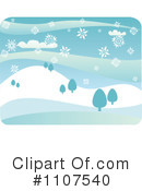 Snowing Clipart #1107540