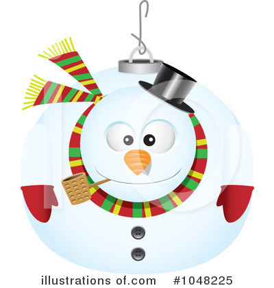 Snowman Clipart #1048225 by toonaday