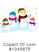 Snowman Clipart #1049875 by BNP Design Studio