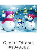 Snowman Clipart #1049887 by BNP Design Studio