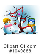Snowman Clipart #1049888 by BNP Design Studio