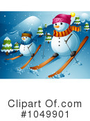 Snowman Clipart #1049901 by BNP Design Studio